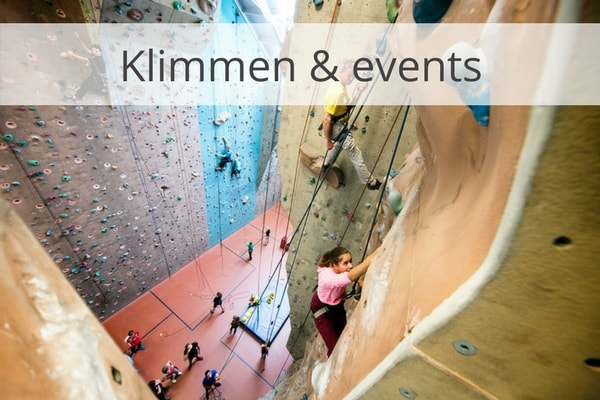Klimmen en events